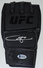 DONG HYUN KIM STUN GUN SIGNED AUTO'D UFC GLOVE BAS BECKETT COA 100 207 187 MAD