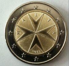 Malta 2 euro 2013 UNC. Zo Uit de rol