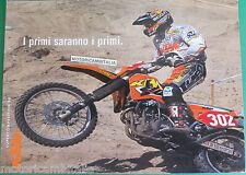 KTM SUPERCOMPETITION 98 400SC 620 SC SX DEPLIANT BROCHURE  PUBBLICITA PROSPEKT
