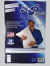 "My Pillow  ""MEDIUM FILL"",QUEEN SIZE 18.5"" X 28"".New in the box. Single Unit"