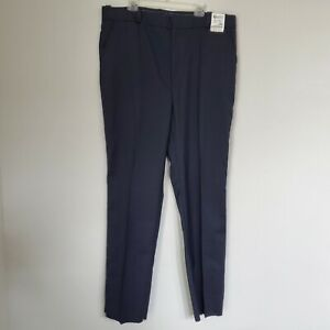 NEW Horace Small Men Navy Blue Police Sheriff Law Uniform Pants 42x37 Raw Hem