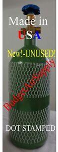 20 cu ft (Made USA) OXYGEN TANK CYLINDER CGA540 VALVE HVAC Welding -SHIPS EMPTY