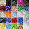 Luxury Silky Satin Dress Craft Fabric Wedding Material 100% Polyester 150cm Wide