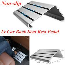 Non-slip Car Aluminum Alloy Foot Heel Pedal Truck Floor Mat Back Seat Rest Pad