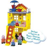 Peppa Pig Simba Casa Bloques de Construcción 84 Piezas Incluye 4 Figuras +3 Años