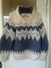 Vintage LONGHOUSE Heavy 100% Wool Sweater Size 38 Hip Boho Labowski
