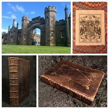 1688 King James Bible FOLIO Rare ABERCAIRNY COPY Freemason SCOTLAND Royal