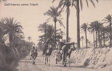 A038) LIBIA, CAMMELLI E CONDUCENTI VERSO TRIPOLI.