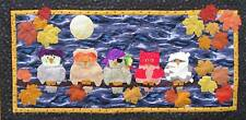 Quilt PATTERN Happy Owl-O-Ween Halloween owl Fall party