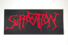 Suffocation Sticker Decal (S266)