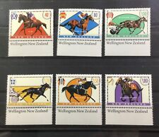 NEW ZEALAND # 1322-1327 RACEHORSES MNH