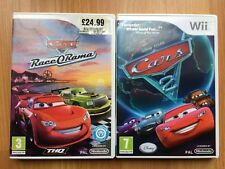 GUC DISNEY PIXAR CARS RACE O RAMA & CARS 2 FOR THE WII