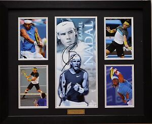 Rafael Nadal Limited Edition Signed Framed Memorabilia