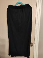 Womens Size 1X Black Maxi Skirt