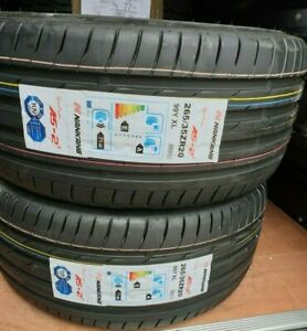 NEW NANKANG AS-2+ SPORT UHP CAR TYRES 265/35 ZR20 XL 99Y 265 35 20 2653520 D+A