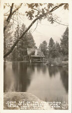 CA * Big Bear/Cedar Lake Movie Set RPPC Trail of the Lonesome Pine Frashers #2