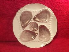 Oyster Plate Antique German Porcelain Oyster Plate c.1884-1933, op314
