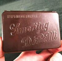 vintage tobacco tin rolling paper box in bakelite - Smoking & DóRéMi - Portugal