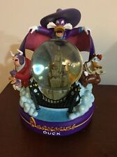 "RARE Disney Darkwing Duck Snow Globe.Lights Up! Plays ""Beethoven's 5th Symphony"""