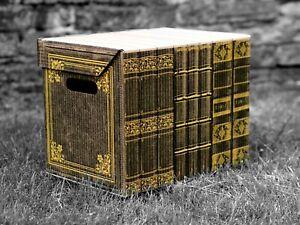 Decorative Storage Boxes Cardboard Box Organiser Archive L Large