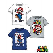 Super Mario Bowser Bambino T-Shirt Rosso