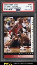 1992 Upper Deck Jerry West Selects Michael Jordan #JW4 PSA 10 GEM MINT (PWCC)