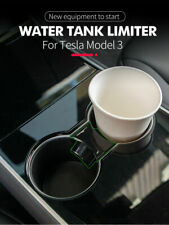 Spring Loaded Cup Slot Slip Limit Holder Insert Black For Tesla Model 3 Model Y
