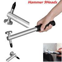 Car Boby Tools Paintless Dent Repair Multi-Functional Tap Down Hammer 9 Heads