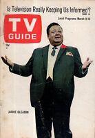 1968 TV Guide March 9 - Jackie Gleason; Paul Revere and Raiders; Gomer; E MacRae