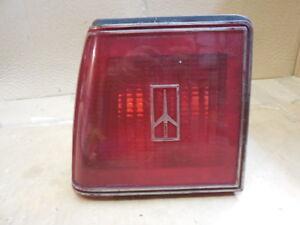 1982 - 1989 Oldsmobile Firenza Left Driver Side Tail Light 5973789