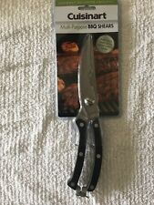 Cuisinart Professional Multi-Purpose BBQ Shears, Stainless Steel Spring Loaded
