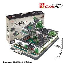 New Gardens of Suzhou China 3D Model Jigsaw Puzzle 362 Pieces MC166H