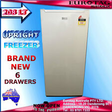 EUROTAG 180 LT UPRIGHT VERTICAL FREEZER (BRAND NEW) 1 YEAR  WARRANTY