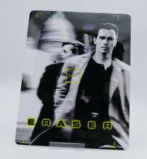 ERASER (schwarznegger) - Glossy Bluray Steelbook Magnet Cover (NOT LENTICULAR)
