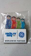 SOCHI 2014 OLYMPIC PIN GE LOGO