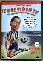 Alberto Sordi è IL PRESIDENTE DEL BORGOROSSO FOOTBALL CLUB  (1970) DVD  USATO