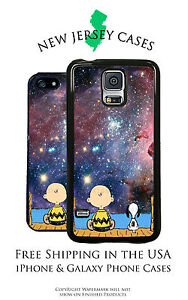 Peanuts Charlie Brown Snoopy Universe For iPhone & Galaxy Phone Case Cover