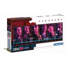 Clementoni Netflix Stranger Things Panorama Puzzle 1000 Pieces