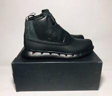 adidas Porsche Design Snow Easy Winter Boots G60203 Black Leather PrimaLoft 8US
