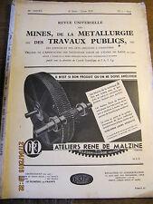 Revue Universelle des Mines, de la Métallurgie N°5 1943