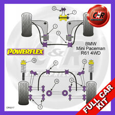 Mini Paceman 4WD 13-16 LowEngLrgBush, RrTralArmFrIns, RrDiffRrBush Powerflex Kit