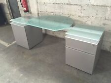Walter Knoll Icon Sideboard silber/Glas