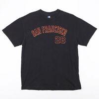 MLB San Francisco Giants Black Sports Short Sleeve T-Shirt Mens L