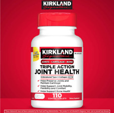 Kirkland Signature Triple Action Joint Health, UC ll Collagen,110 Coated Tablets