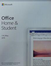 MS Office 2019 Home & Student multilingual   1 PC / Mac   Dauerlizenz   ML   DE