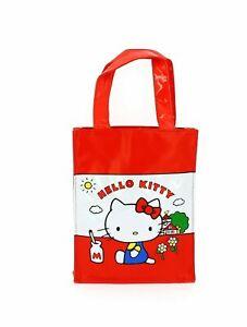 Sanrio Hello Kitty Vintage Collection Mini PVC Tote Bag / Lunch Bag Girls Women