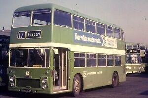 SOUTHERN VECTIS DOUBLE DECK BUS (35MM SLIDE) LOT M43