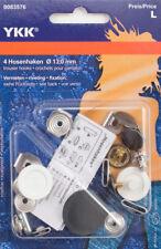 YKK Hosenhaken 13mm Bronze (4 Stück)