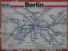 Netzspinne BVG S-bahn  BVB Reichsbahn 1990 Berlin Öffentlicher Nahverkehr Mauer