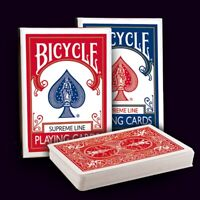 12 x Bicycle Supreme Line Rider Back Poker Karten Spielkarten
